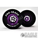 3/32 x 1 3/16 x .500 3D Purple Magnum Drag Wheels