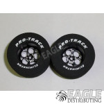 3/32 x 1 3/16 x .500 Black Magnum Drag Wheels