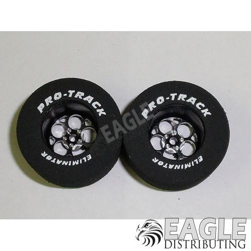 Magnum Series CNC Drag Rears, 1 3/16 x .500, Black