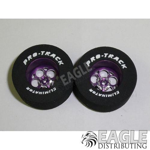 Magnum Series CNC Drag Rears, 1 3/16 x .500, Purple