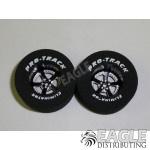 3/32 x 1 3/16 x .500 Black Evolution Drag Wheels