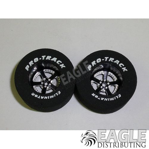 Evolution Series CNC Drag Rears, 1 3/16 x .500, Black