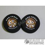 3/32 x 1 3/16 x .500 Gold Evolution Drag Wheels