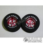 3/32 x 1 3/16 x .500 Red Evolution Drag Wheels