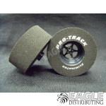 3/32 x 1 5/16 x .500 3D Black Pro Star Drag Wheels