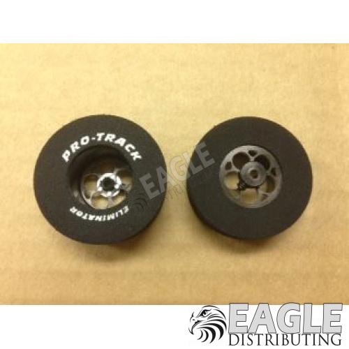 Magnum Series CNC Drag Rears, 1 5/16 x .500, Black