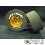 3/32 x 1 5/16 x .500 Gold Evolution Drag Wheels