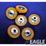 34T 64P Polymer Spur Gear for 3/32 Axle