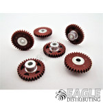 32T 48P Polymer Spur Gear for 1/8 Axle