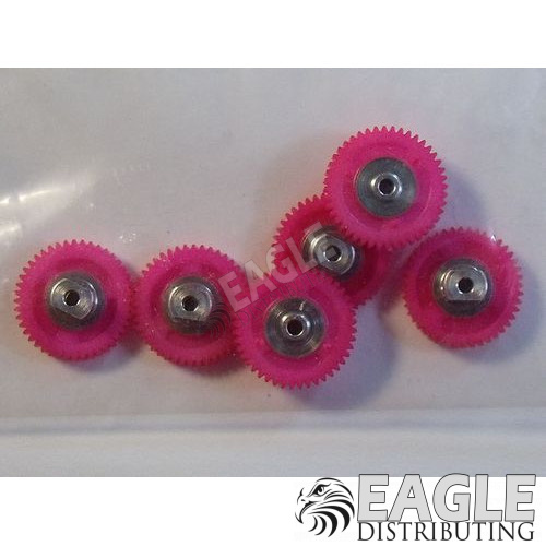 44 Tooth, 72 Pitch, 2mm Bore Straight Polymer Spur Gear
