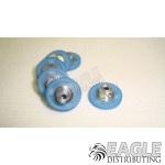 45 Teeth, 80 Pitch, 2mm Bore Straight Polymer Spur Gear