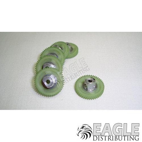 46 Teeth, 80 Pitch, 2mm Bore Straight Polymer Spur Gear