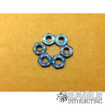 Blue Anodized Guide Nut (6)