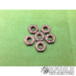 Red Anodized Guide Nut (6)