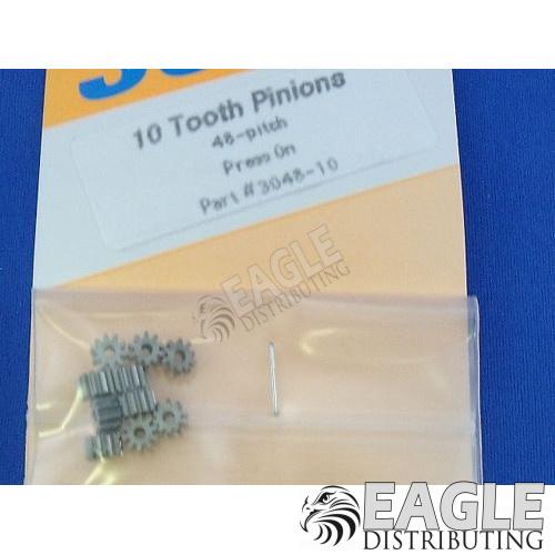 10 tooth 48 pitch pinion press-on pinion gear