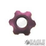 Grape Nut purple anodized lightweight guide nut