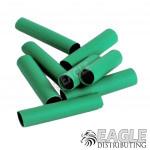 Green Shrink Wrap 4mm 8pcs
