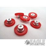 45T 80P Polymer Spur Gear 2mm Axle