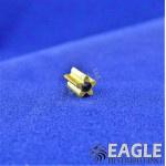 EDM Pinion 5T 64 Pitch 1.5mm TiN Coated