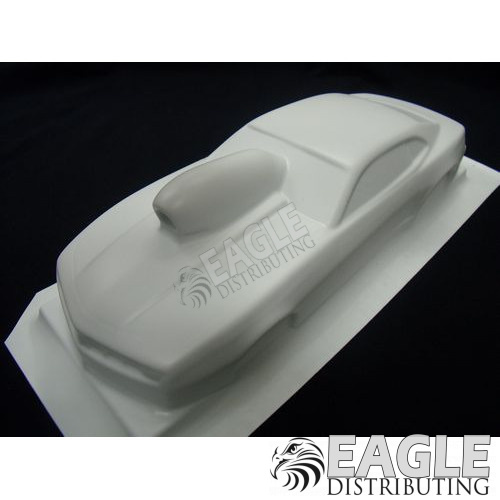 '14 Camaro Unpainted White Styrene Drag Body