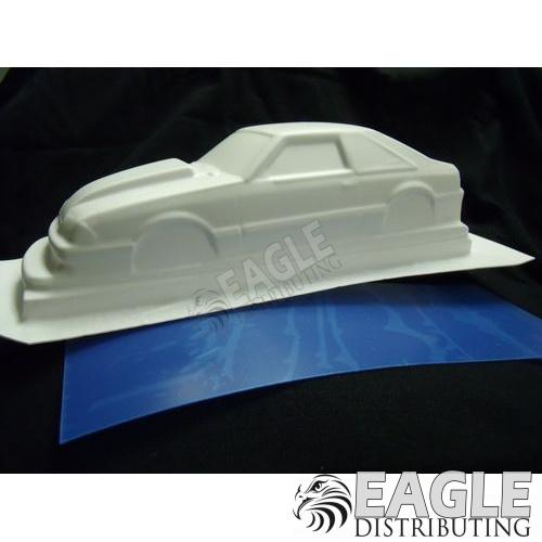 '93 Mustang 5.0, white styrene