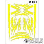 1/24-1/32 Paint Mask - Lightning Bolt