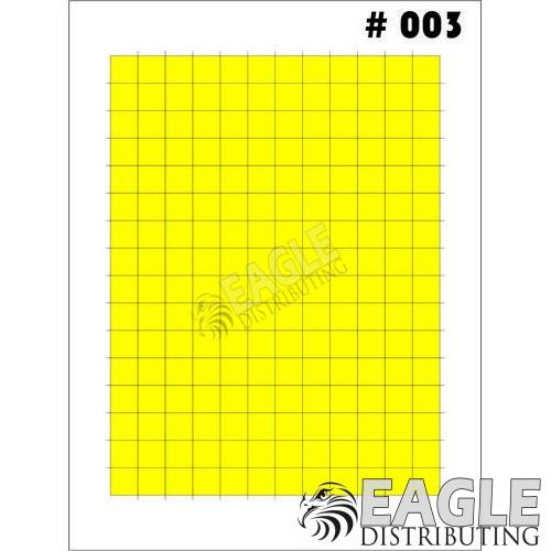 1/24-1/32 Paint Mask - Large Grid-TAY003