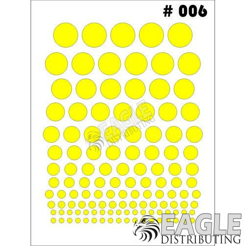 1/24-1/32 Paint Mask - Dots-TAY006