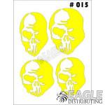 1/24-1/32 Paint Mask - Skull