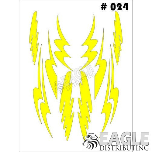 1/24-1/32 Paint Mask - Graphics Taylo Racing TAY024