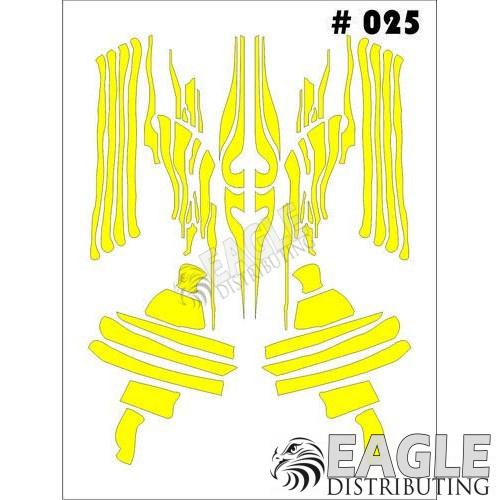 1/24-1/32 Paint Mask - Graphics Taylo Racing TAY025