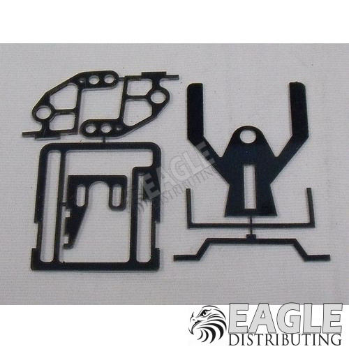 T/R Sidewinder, Bolt in Motor Drag Chassis Kit