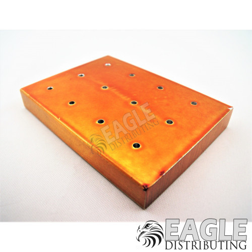 Gold Anodized Armature Block