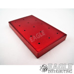 Red Anodized Armature Block