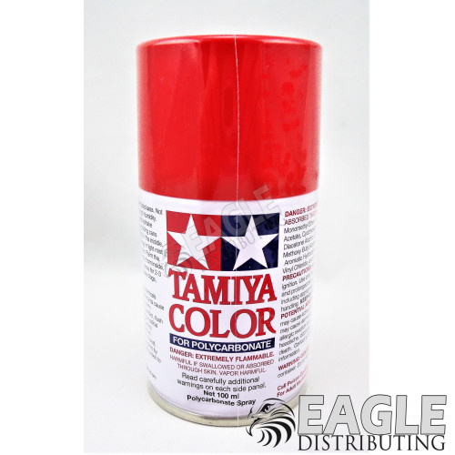 PS-34 Bright Red Spray Can 100ml