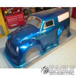 VW panel truck drag body (clear lexan)