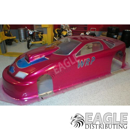 96 Camaro P/S Drag Body, Clear Lexan, w/masks