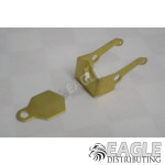 1 1/16 - 1 3/16 Tire Inline Brass Motor Bracket