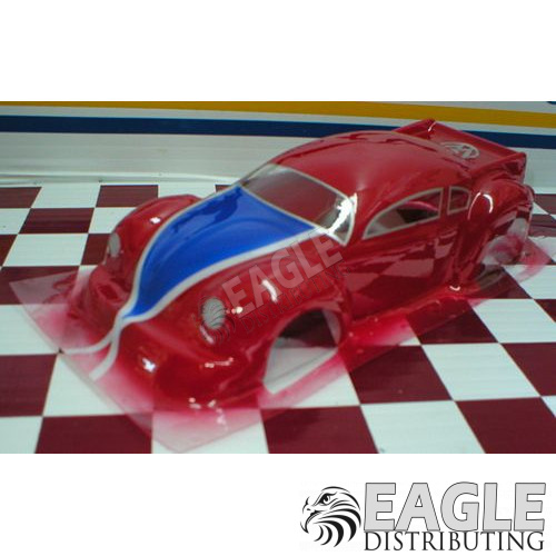 Styrene VW Pro Turbo Bug w/Clear Window Insert
