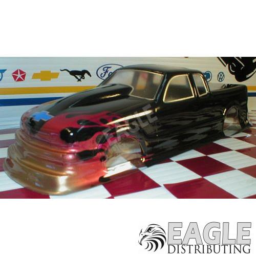 S-10 Dual Cab Pro Stock Drag Body (Styrene)