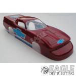 63 Split window Vette drag body (styrene)