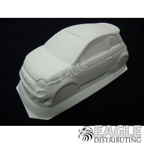 Fiat 500 Styrene Drag Body