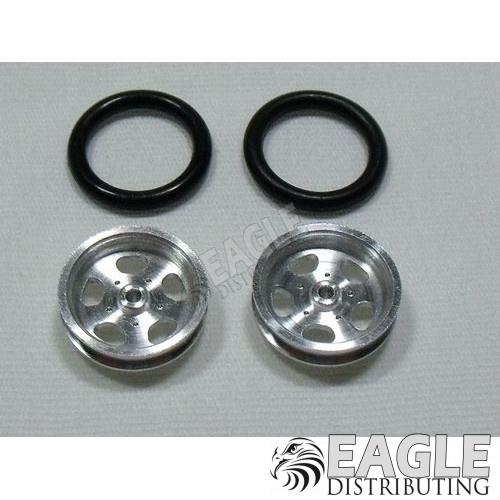 Halibrand 3/4 Drag Front Wheels