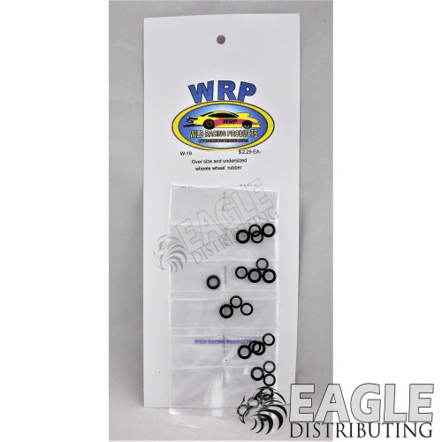 Over and Under Sized Wheelie Wheel Rubber O-rings